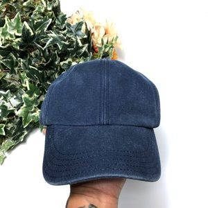 J. Crew Blue Denim 6 Panel Adjustable Hat - O/S